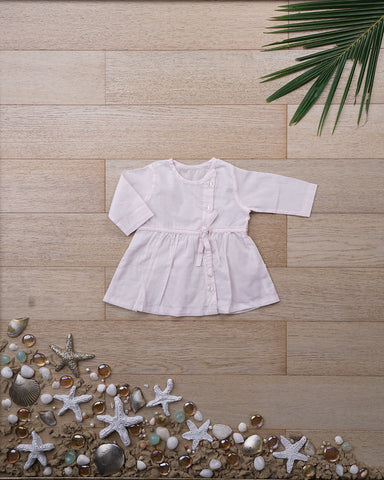 'Song in your heart' with Sleeves - Girls (0-6 months)