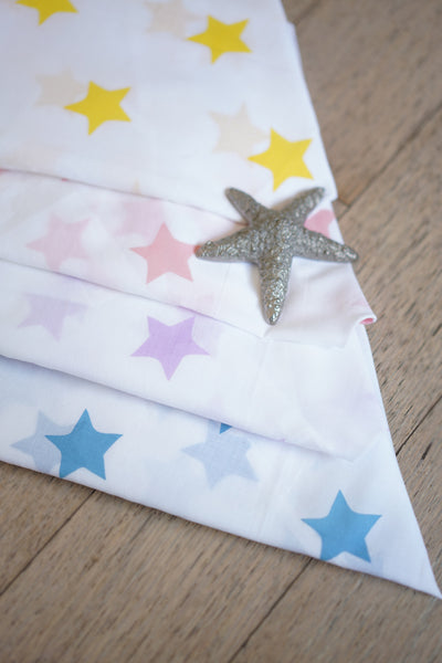 'Wish upon a star' Organic Cotton Swaddle (Set of 4)