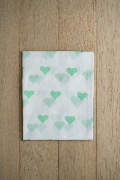 'Grace' Organic Cotton Swaddle in Green