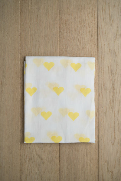 'Grace' Organic Cotton Swaddle in Yellow