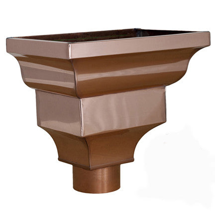 Cezzane- Copper Leader Head - Wholesale Gutter Systems