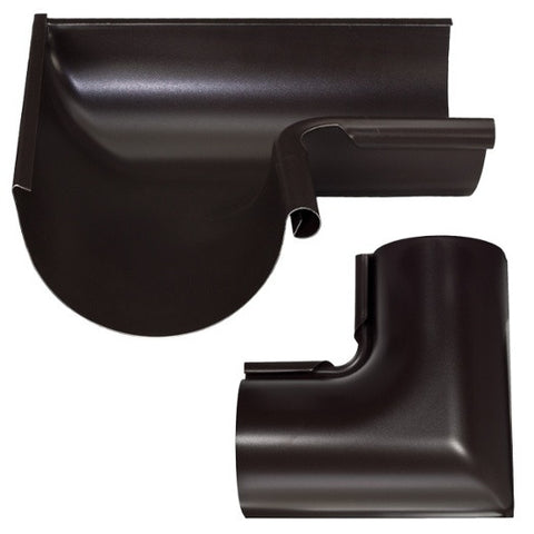"STEEL INSIDE MITER- 5"", 6"", & 7.5""  90 DEGREE - Wholesale Gutter Systems  - 3"