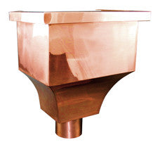 COPPER LEADER HEAD- DA VINCI - Wholesale Gutter Systems
