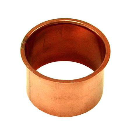 "COPPER OUTLET- PLAIN FLAT 2 1/4"", 3"", 4"", & 5"" - Wholesale Gutter Systems  - 1"
