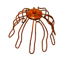 COPPER WIRE STRAINER - Wholesale Gutter Systems  - 1