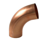 COPPER ELBOW- SEAMLESS ROUND - Wholesale Gutter Systems  - 1
