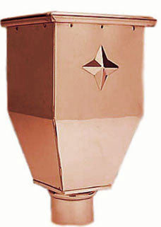 COPPER LEADER HEAD- LAWRENCE - Wholesale Gutter Systems