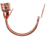 "COPPER ADJUSTABLE HEAVY DUTY FASCIA HANGER- 5"" & 6"" - Wholesale Gutter Systems  - 1"