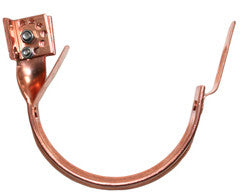 "COPPER ADJUSTABLE STANDARD DUTY FASCIA HANGER- 5"" & 6"" - Wholesale Gutter Systems  - 1"
