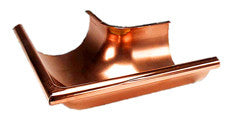 "COPPER MITER-OUTSIDE 4"", 5"", 6"", & 7.6"" 90 DEGREE - Wholesale Gutter Systems  - 1"