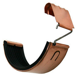 GUTTER CONNECTOR FOR SOLDERLESS INSTALLATION- COPPER - Wholesale Gutter Systems