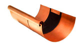 "COPPER EXPANSION JOINT- 5"", 6"", & 7.5"" HALF ROUND - Wholesale Gutter Systems  - 1"