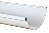 "STEEL HALF ROUND GUTTER- PREMIER 6"" (10' & 18' lengths) - Wholesale Gutter Systems  - 1"