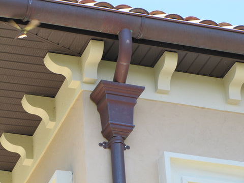 COPPER LEADER HEAD- HEMINGWAY - Wholesale Gutter Systems