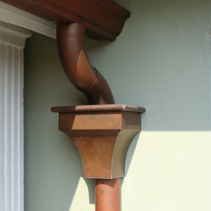 COPPER LEADER HEAD- DALI - Wholesale Gutter Systems