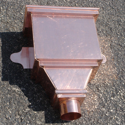 COPPER LEADER HEAD- RAPHAEL - Wholesale Gutter Systems