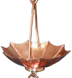 COPPER RAIN CHAIN- UMBRELLA - Wholesale Gutter Systems  - 1