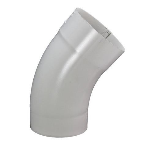 "STEEL SMOOTH ROUND 40° DEGREE ELBOW- 3"", 4"", & 5"" - Wholesale Gutter Systems  - 1"