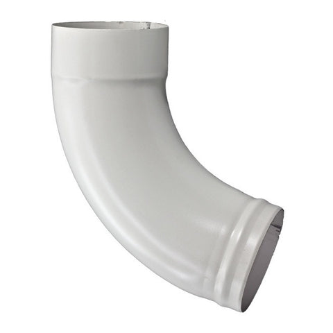 "STEEL SMOOTH ROUND 72° DEGREE ELBOW- 3"", 4"", & 5"" WITH REINFORCED BEAD - Wholesale Gutter Systems  - 1"