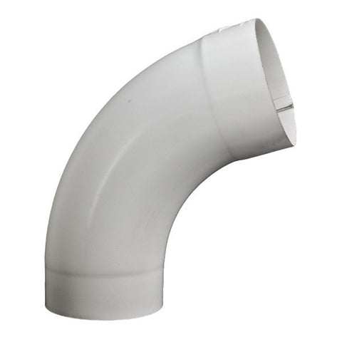 "STEEL SMOOTH ROUND 72° DEGREE ELBOW- 3"", 4"", & 5"" - Wholesale Gutter Systems  - 1"