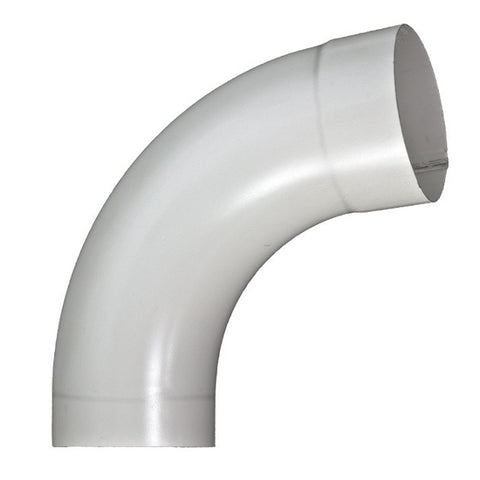 "STEEL SMOOTH ROUND 85° DEGREE ELBOW- 3"" & 4"" - Wholesale Gutter Systems  - 1"