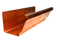 COPPER K STYLE (OGEE) RAIN GUTTER - Wholesale Gutter Systems
