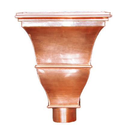 COPPER LEADER HEAD- MONET - Wholesale Gutter Systems