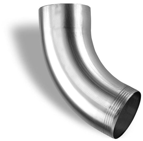 SEAMLESS SMOOTH ROUND ELBOWS | ZINC - Wholesale Gutter Systems  - 1
