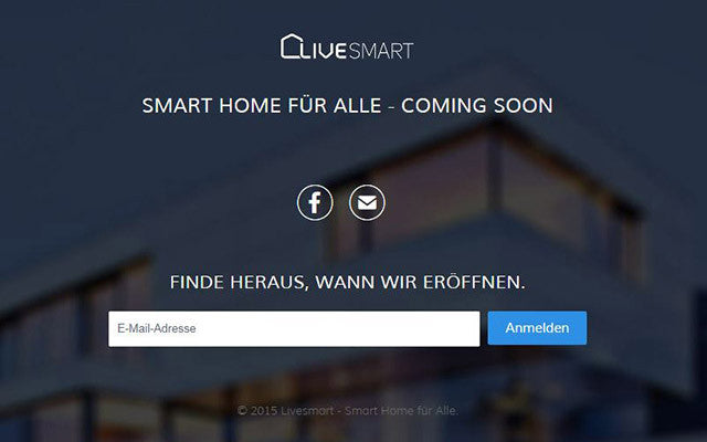 livesmart.at in Kürze online
