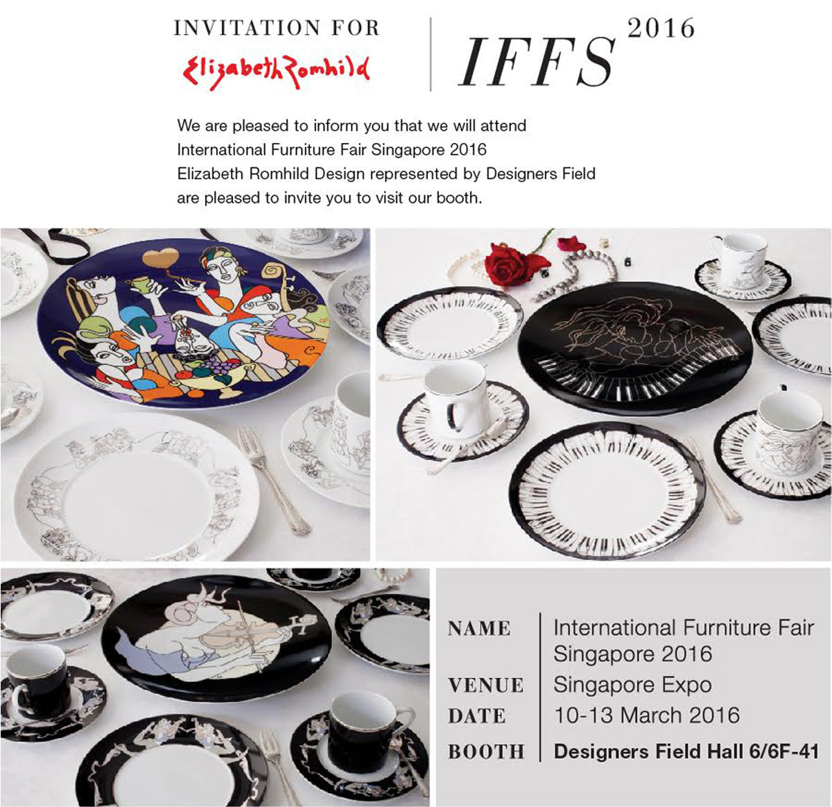Invitation For Elizabeth Romhild | IFFS 2016