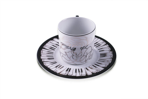 Piano Design - Coffee and Tea set