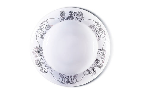 Deep Plate (Set of 2)