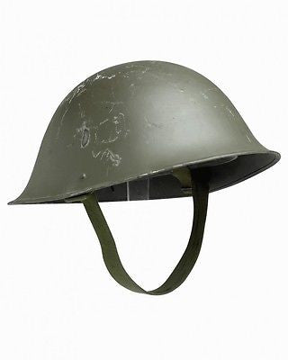 Original British military army surplus mark 4 ( Mk IV ) steel combat helmet