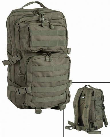 Modular recon  assault backpack, rucksack. Molle fixings. Patrol, army. 25L