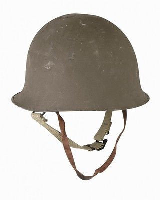 Military army surplus original French M51 combat helmet with liner