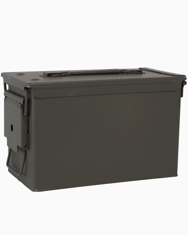 Ammunition ammo box 50 cal military surplus NATO storage tools - *NEW*