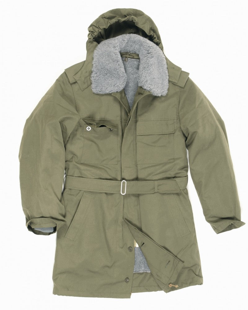 Czech army surplus hooded parka with removable liner