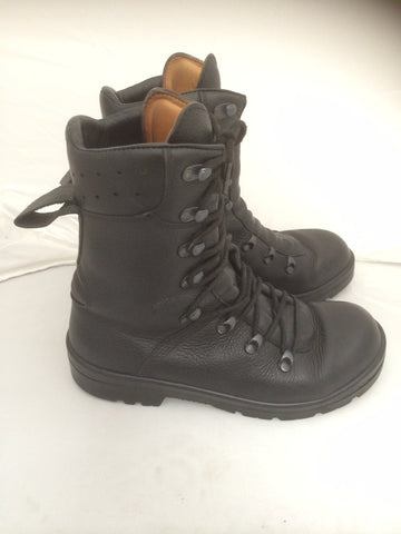 Original Swiss army surplus combat assault leather boot