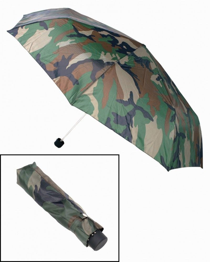 Camouflage pattern, extending umbrella