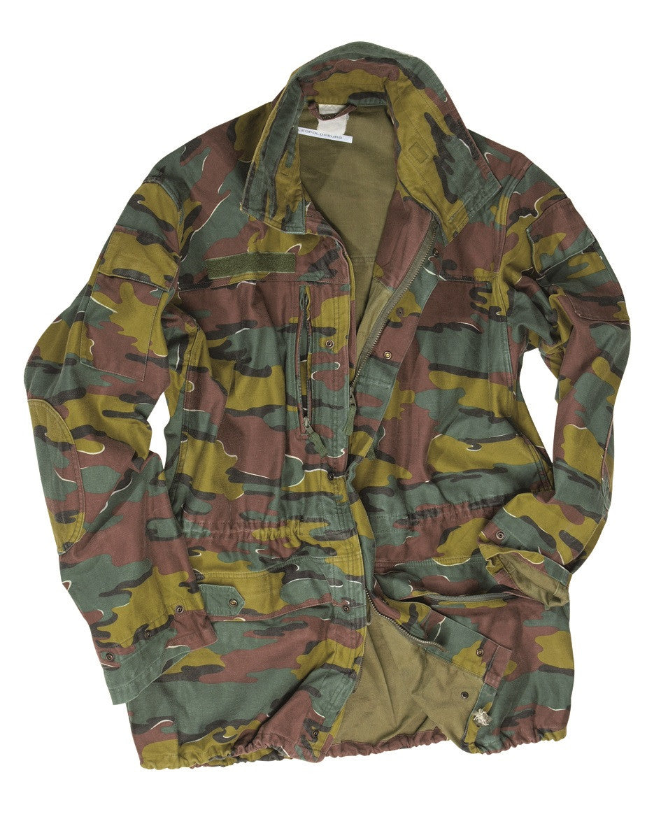 015e3ab91ced5 Belgian army surplus m90 Jigsaw camouflage field jacket – surplusandlost