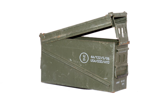 Military army surplus 40mm grenade ammo box - heavy duty