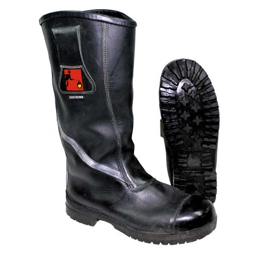 British Fire service firefighter TUFFKING boots