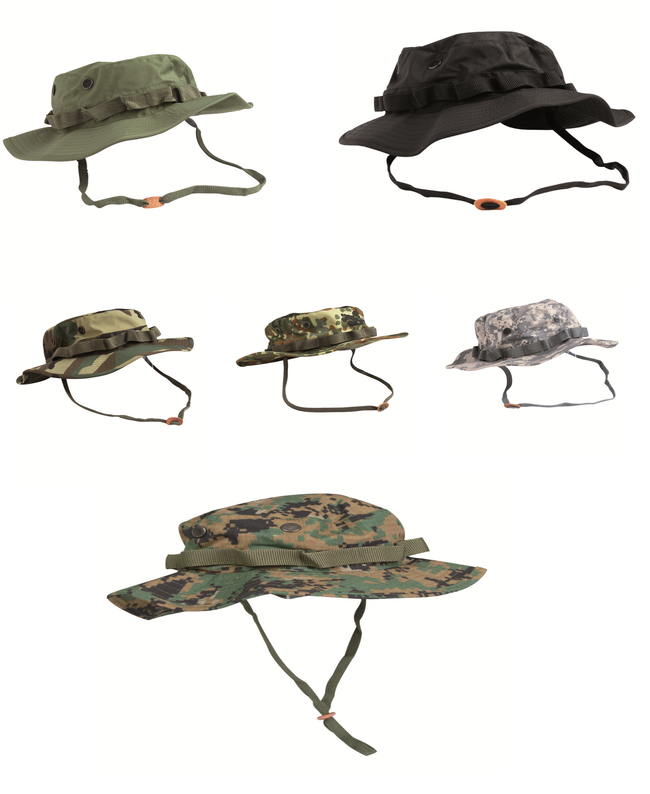 Bush hat / boonie hat, massive range of styles & sizes, 100% cotton