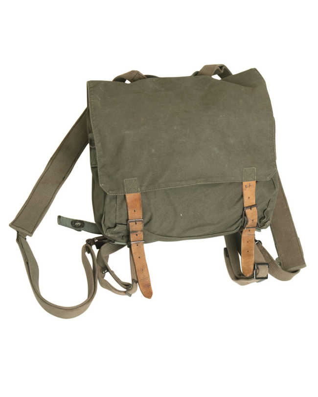 Vintage / retro  military / army surplus backpack / rucksack