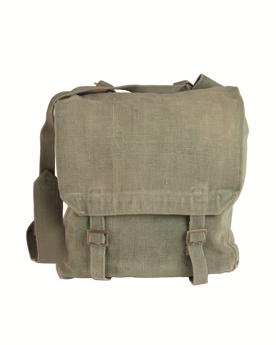 British army surplus m37 large heavy duty canvas bag