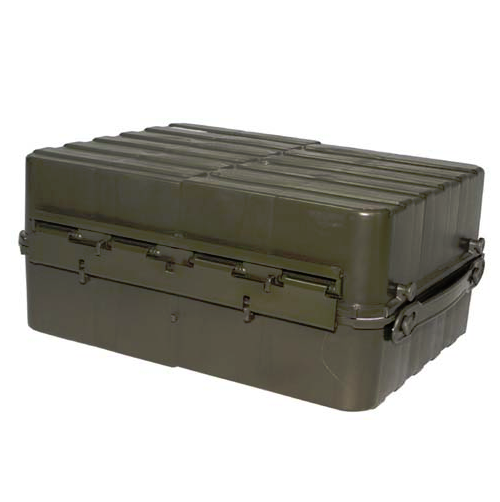 Norwegian army surplus equipment ammo munitions transport box