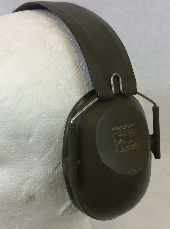 British army surplus PELTOR ear defenders