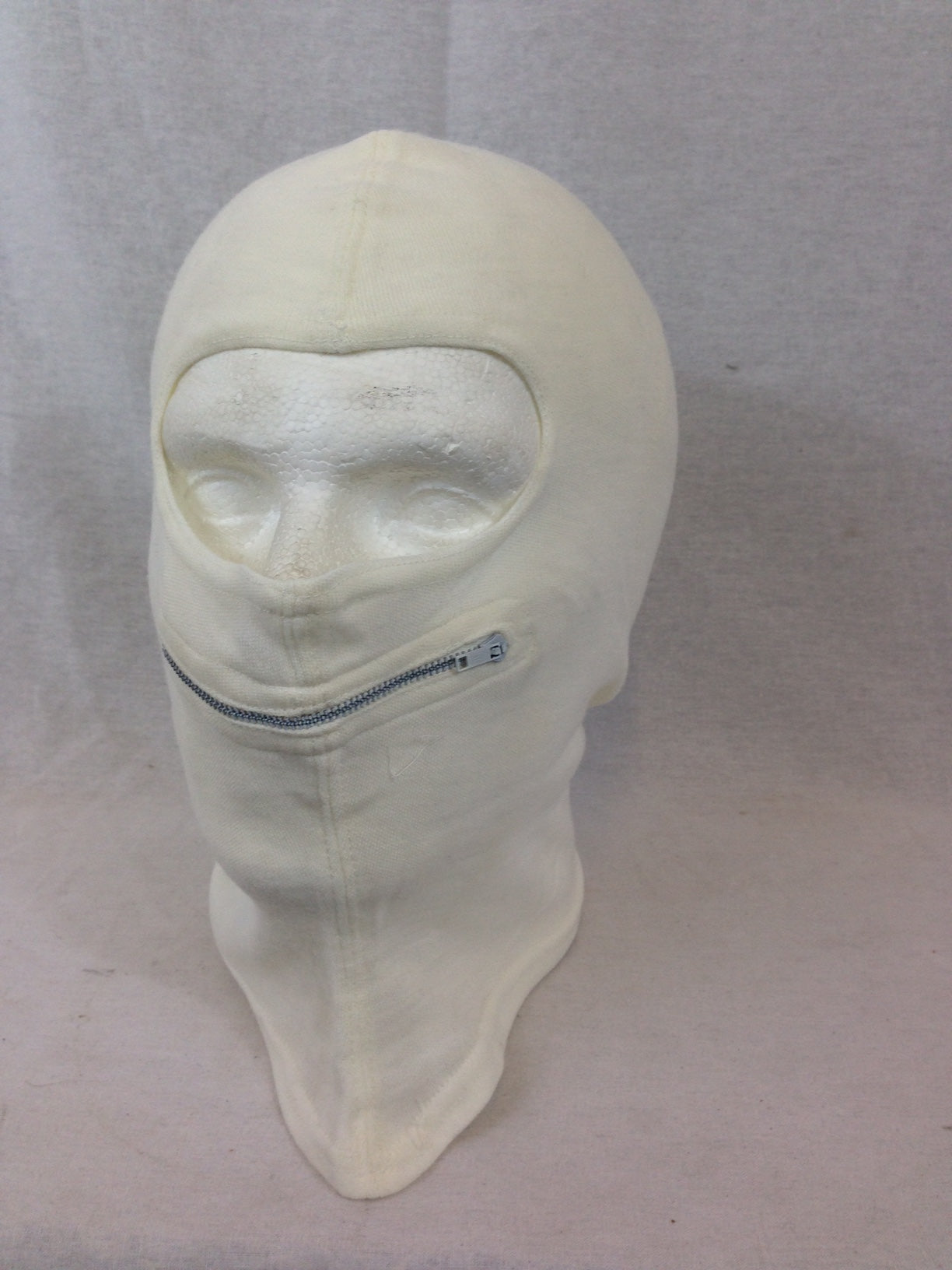 French army surplus snow mask with zip