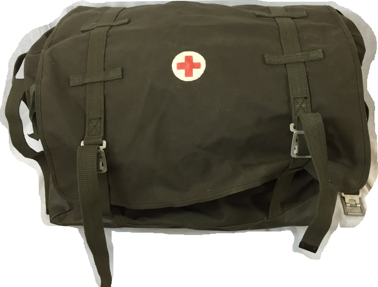 German army surplus LARGE canvas ( medical ) bag