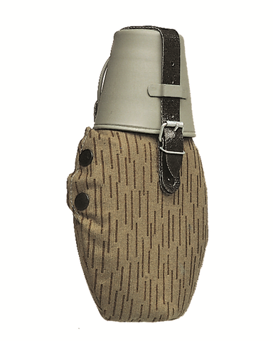 Bota style water bottle, available in OLIVE, BLACK & COYOTE